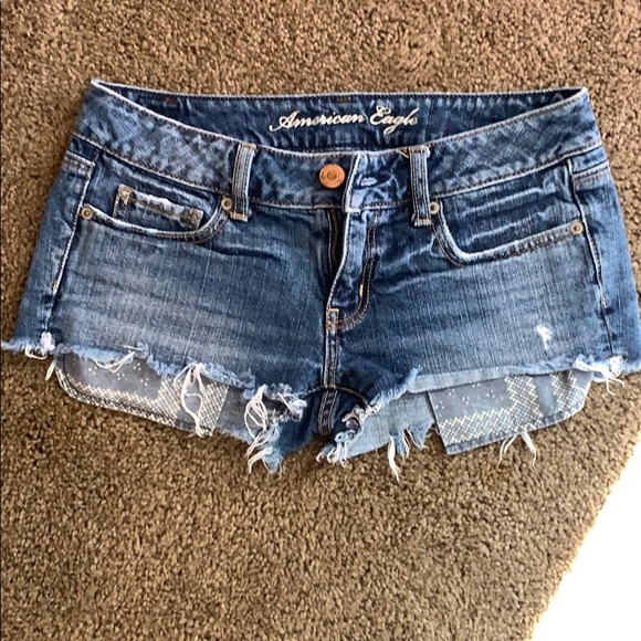 American Eagle Outfitters Pants - Blue jean shorts